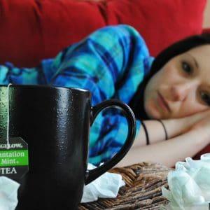 sick ill freshers flu